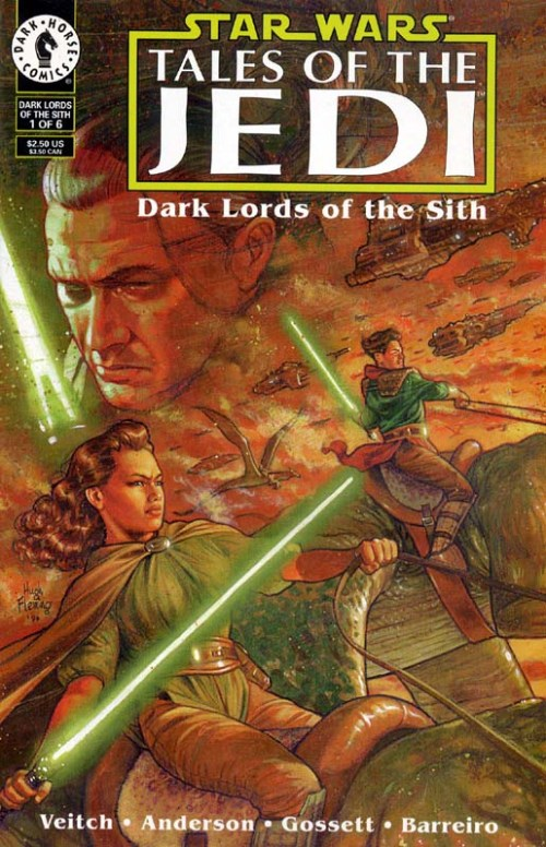 tales of the jedi dark lords of the sith